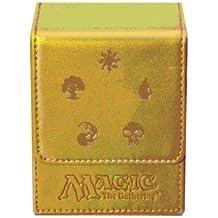Ultra Pro–Juego de cartas Deckbox Magic Mana funda (oro)