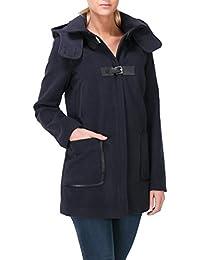 Lulu Castagnette - Manteau avec Capuche - Manches Longues - Femme