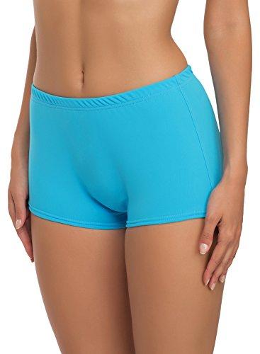 Merry Style Damen Badeshorts Bikinihose Modell L23L1 (Blau (6046), 38)
