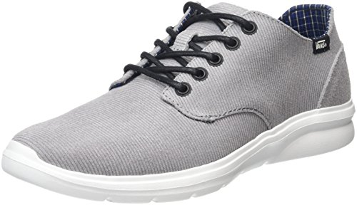 Vans ISO 2, Baskets Basses Mixte Adulte Gris (Cord & Plaid gray)