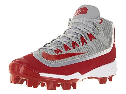 buy popular 1c459 401c9 Men s Nike Huarache 2KFilth Pro Baseball Cleat, Wolf Grey University  Red White,
