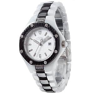 Detomaso DT3005-E – Reloj analógico de Cuarzo para Mujer con Correa de cerámica, Color Multicolor