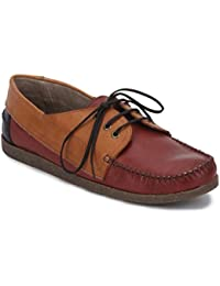 Knotty Derby Men's Leather Sneakers