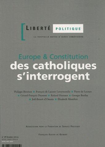 Pierre De Lauzun - Liberté politique, N° 29, avril-mai 200 :