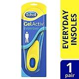 Scholl Men's Gel Activ Everyday Insoles, One Size