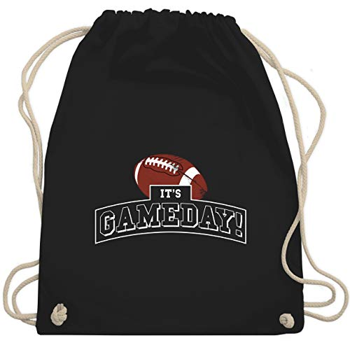 Sonstige Sportarten - It's Gameday Vintage Football - Unisize - Schwarz - WM110 - Turnbeutel & Gym Bag