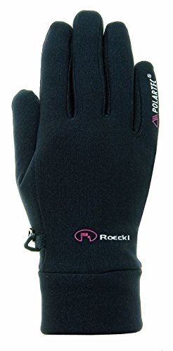 Roeckl sports ROECKL Kinder Handschuhe WARWICK JUNIOR, schwarz, 4