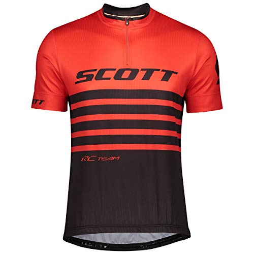 Scott RC Team 20 Fahrrad Trikot kurz rot/schwarz 2020: Größe: XXL (54/56)