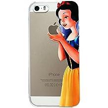 Sufs - Carcasa para iPhone, transparente, diseño de Disney, blancanieves, iPhone 6/6S