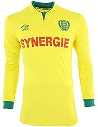 FC NANTES HOME JERSEY LS JFL - Maillot Football FC Nantes Homme Umbro