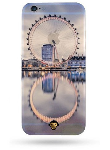 Monkey Cases® London Eye-Coque de protection pour iPhone-Cover-Angleterre-UK