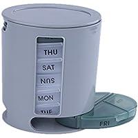 everpert 7Tage Pillen-Organizer mit Aufbewahrung, kompaktes Mini-Sorter Box preisvergleich bei billige-tabletten.eu
