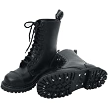 Knightsbridge 10loch Ranger Botas negro - caídas normal de - Tamaño 41