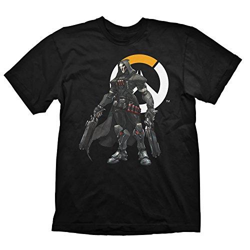Preisvergleich Produktbild Overwatch T-Shirt Reaper Logo,  Größe M