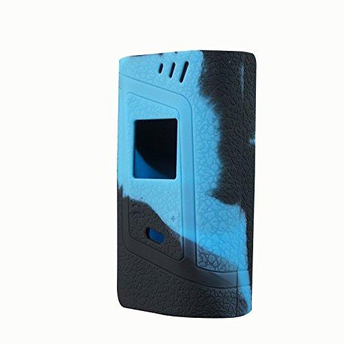 RAYEE ModShield für Smok Alien 220w TC Silikon-Hülle Alien 220W Skin Cover Hülle Wrap Shield. schwarzblau Alien-cover