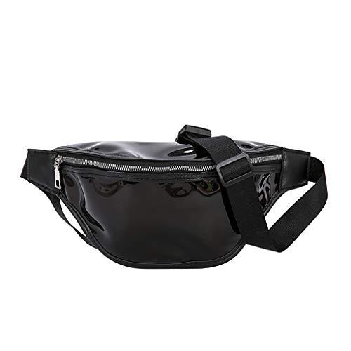 Gürteltasche Damen, Weant Transparent Bauchtasche Leder Nature Handtasche Mary XS kleine Lederhandtasche Umhängetasche Vintage Look (Unter Schwarze Satchel 20)