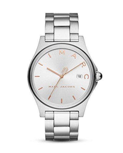 Marc Jacobs Damen-Uhren Analog Quarz One Size Edelstahl 87428494