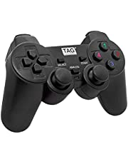 Tag Gamepad G10 - with Double-2-Shock Controller Vibrator (Black)