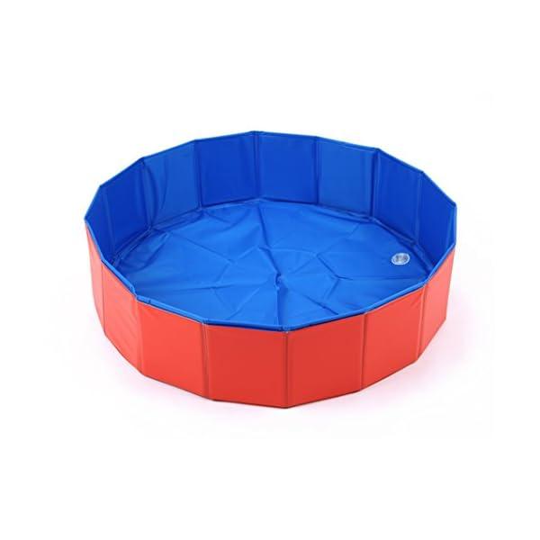 Foldable Large Dog Pet Pool Bathing Tub 3