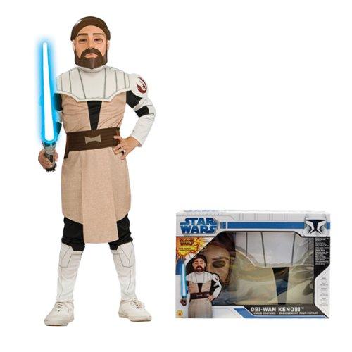 NEU Kinder-Kostüm Obi Wan-Kenobi Box Set, Gr. (Wan Maske Kenobi Obi)