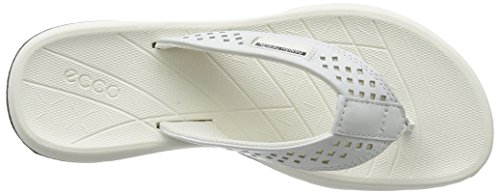 ECCO Intrinsic Tøffel Ladies, Scarpe Sportive Outdoor Donna Bianco (1007white)