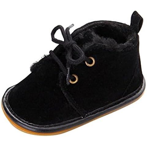 Kingko® Bambino del bambino pattini infantili neve stivali Shoes suola