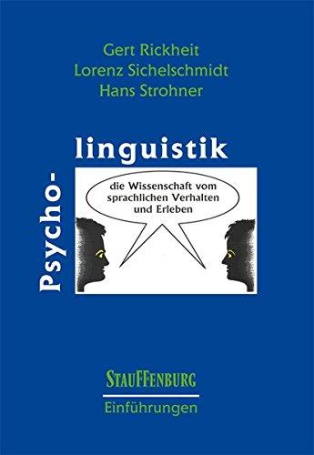 Psycholinguistik (Stauffenburg Einführungen, Band 7)