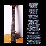 WANDIC wandic Wasserdicht Griffbrett Marker Inlay Aufkleber Decals für akustische Gitarre Bass Urlaub Geschenk für Musikliebhaber 1pc style 6