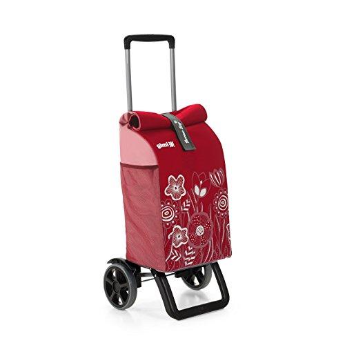 Gimi Rolling Einkaufstrolley, rot