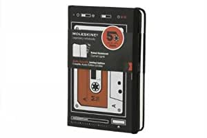 Moleskine Hard Audiocassette Ruled Notebook Pocket (Moleskine Audio Cassette)