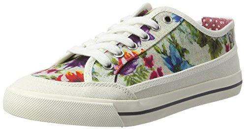 Wrangler Damen Starry Share Sneakers Weiß (WHITE FLOWERS) 1JhgdRxPRN