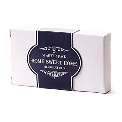 Mystic Moments | Fragrant Oil Starter Pack - Home Sweet Home - 5 x 10ml from Mystic Moments