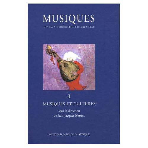 Musiques tome 3 : Musiques et cultures