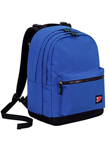 Zaino seven - the double pro xxl - blu - 30 lt schienale compatibile con cover e reversibile