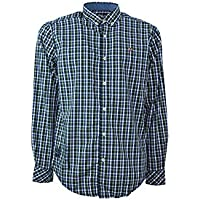 Napapijri camisa de manga larga de hombre N0YI3ZC26 GALVESTON
