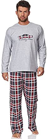 Cornette Ensemble Pyjama Homme CR-124-Cadillac (Melange, XL)