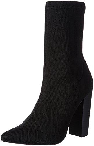 Steve Madden Damen Siena Ankleboot Stiefel, Schwarz (Black), 39 EU (Stretch-stiefel Womens Tall)