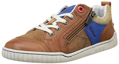 kickers-winchester-baskets-basses-garcon-marron-camel-bleu-27-eu