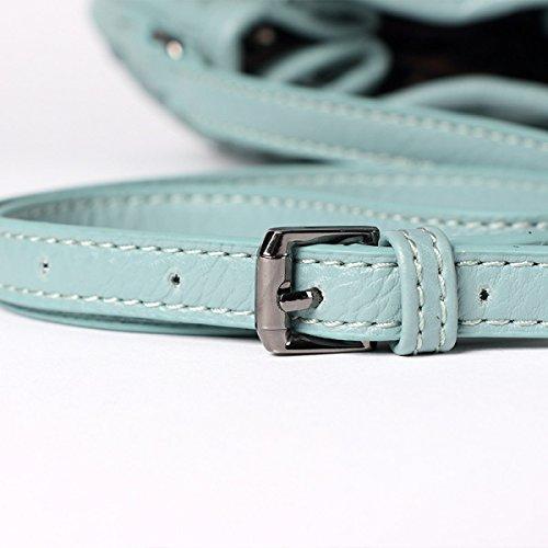 Nuova Versione Coreana Mini Tessitura Sacchetto Di Spalla Spalla Sacchetto Del Messaggero Sacchetto Del Pu Black