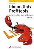 Linux-Unix-Profitools awk, sed, yacc und make (Open Source Library)