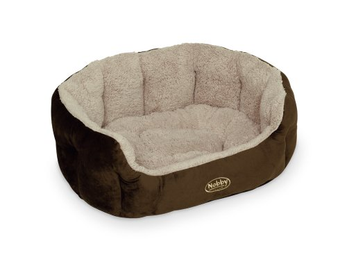 """Nobby 71459 Komfort Bett für Hunde Oval """"Kamega"""" 65 x 57 x 22 cm - 2"""