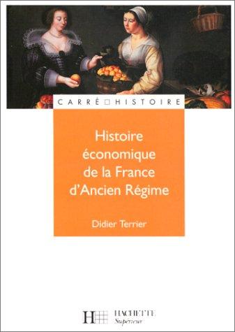 Histoire économique de la France d'Ancien Régime