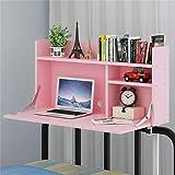 Klapptisch Multi-Funktions-Schreibtisch Etagenbett Schlafsaal Lazy Adjustment Table Große Kapazität Space Saving Floating Table/Klappbarer Computertisch