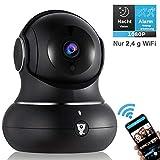 WLAN IP Indoor Überwachungs Kamera - Littlelf 1080P WiFi Home Wireless Haustier Baby Monitor Kamera mit 2-Wege Audio, Infrarot Nachtsicht, 3D Panorama, Fernalarm für iOS/Android, Cloud-Speicher