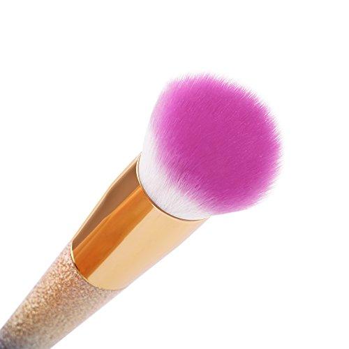 Docolor Make Up Brushes Fantasy Rainbow Makeup Brushes Flat Top Kabuki Foundation Brush