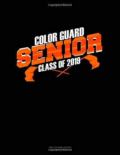 Senior Color Guard Class of 2019: Unruled Composition Book