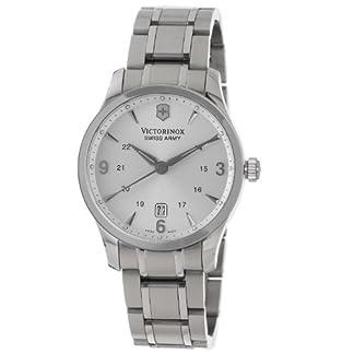 Victorinox 241476 – Reloj de pulsera hombre, acero inoxidable, color Plata