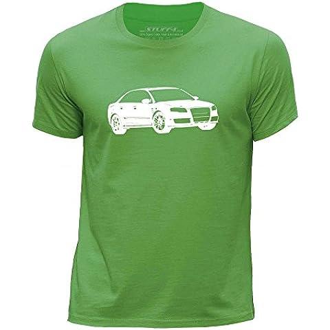 STUFF4 Ragazzi Girocollo T-Shirt/Plantilla Coche Arte / RS4