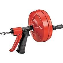 RIDGID 57043 Déboucheur Power spin avec AUTOFEED, câble Maxcore avec tarière à bulbe pour supprimer les obstructions
