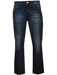 Lee Cooper Herren Bootcut Jeans Freizeit Denim Hose Jeanshose Baumwolle
